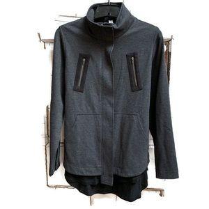 Lululemon lab jacket belted Rare style size 6 gray